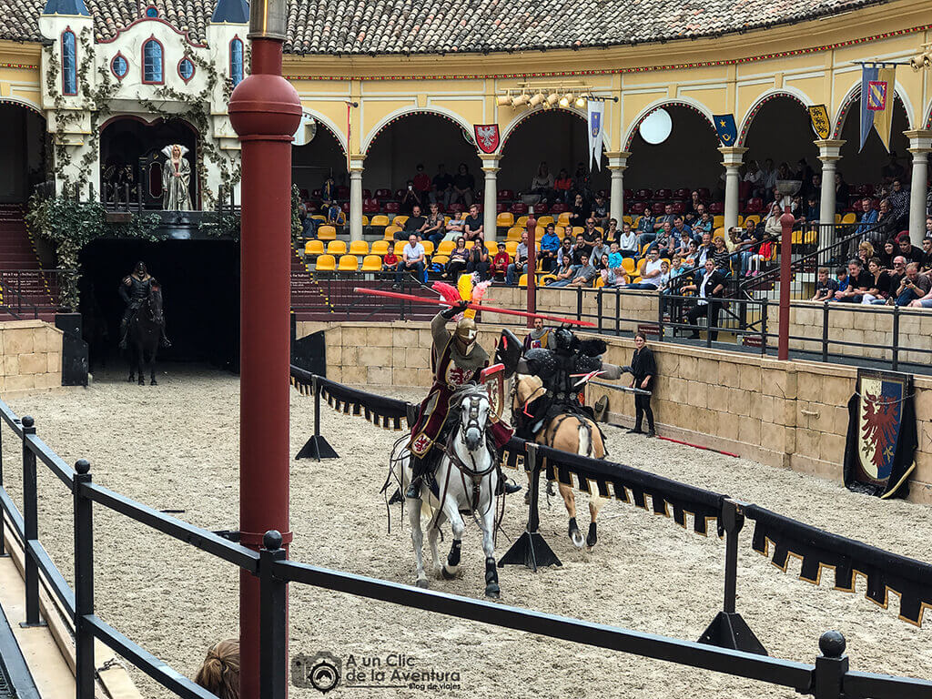 Espectáculo The Dark Prince - guía para visitar Europa Park
