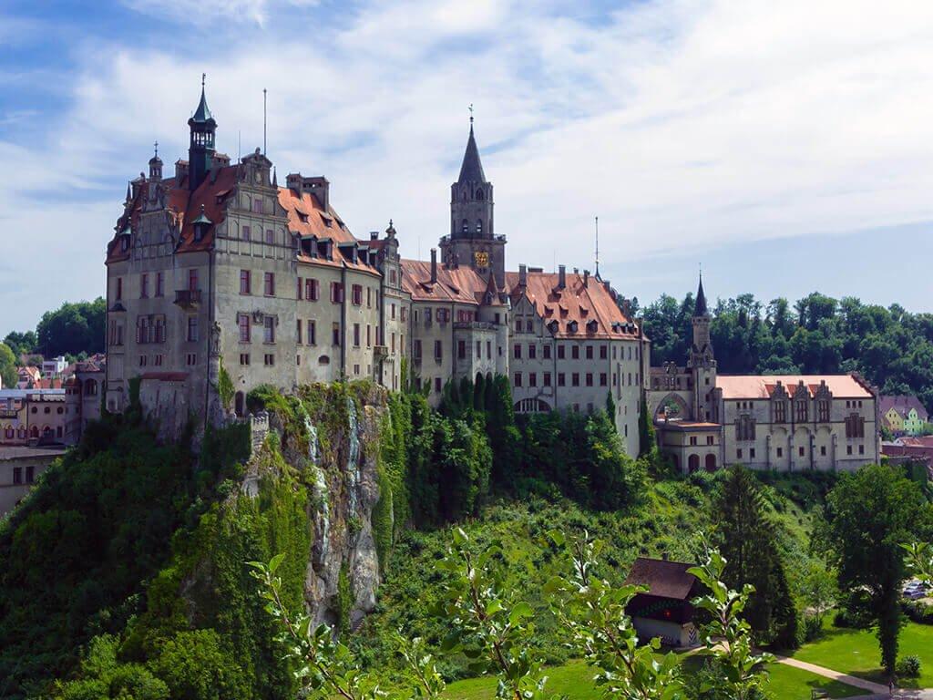 Exterior del Castillo Hohenzollern Sigmaringen