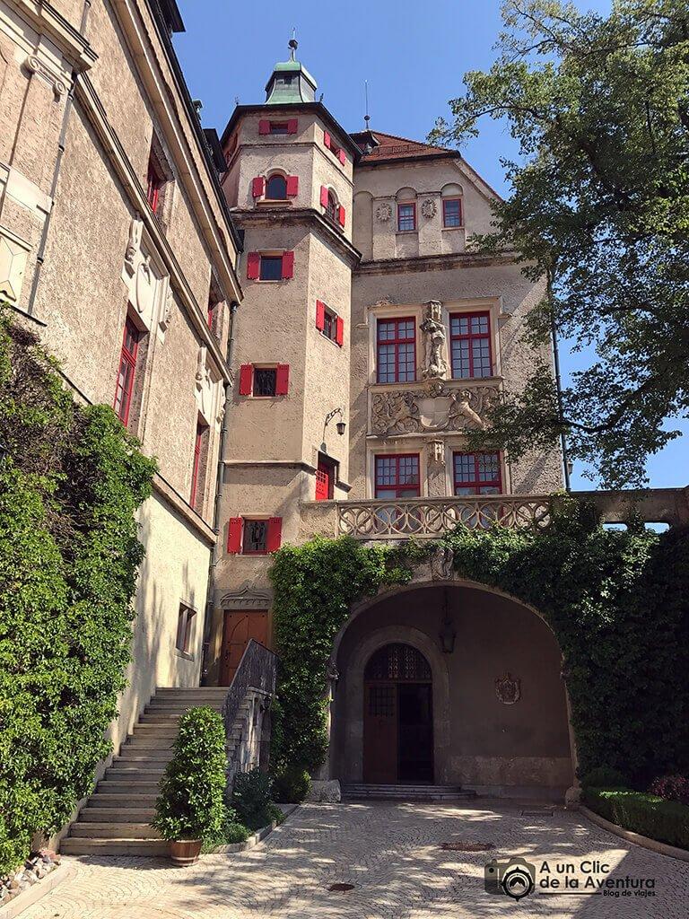 Patio del Castillo Hohenzollern Sigmaringen
