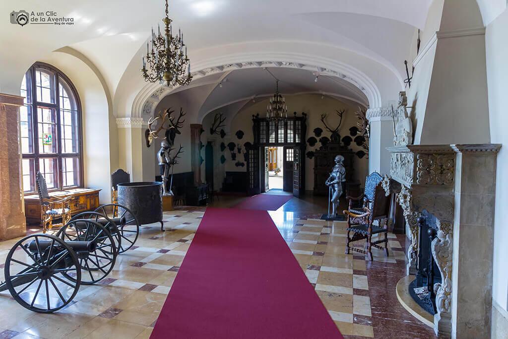 Recibidor del Castillo Hohenzollern Sigmaringen