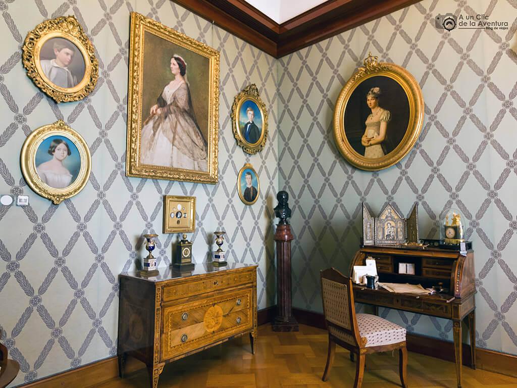 Habitación de la Condesa - Castillo Hohenzollern Sigmaringen