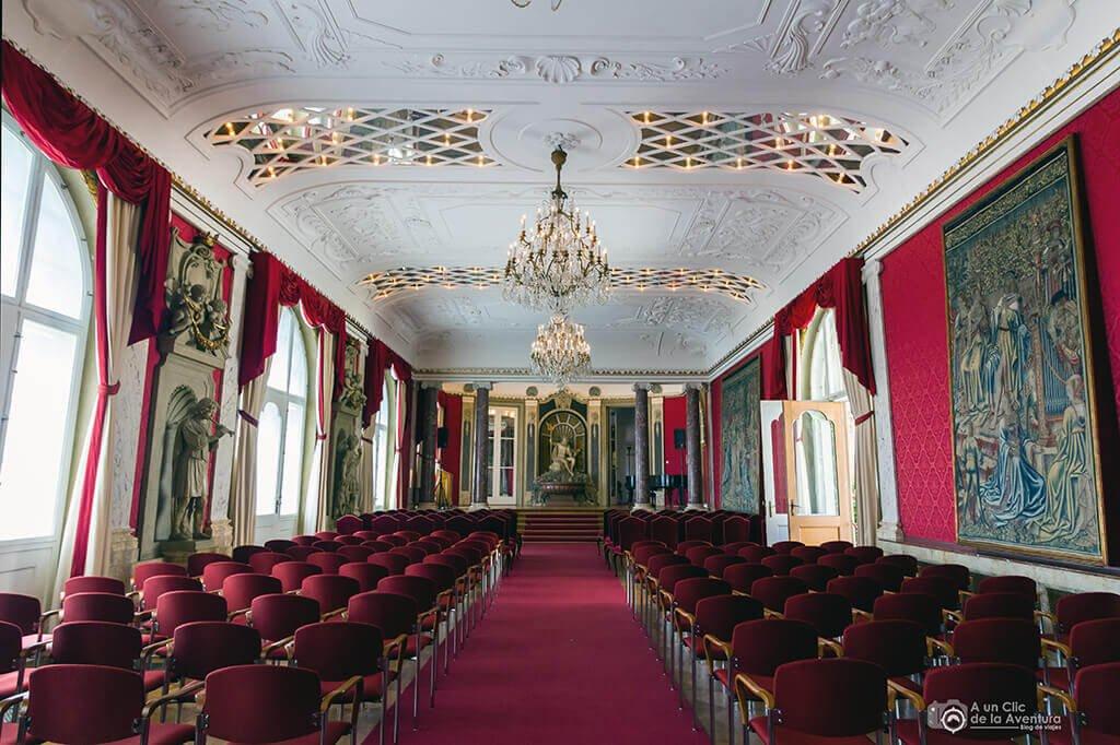 Sala de conciertos - Castillo Hohenzollern Sigmaringen