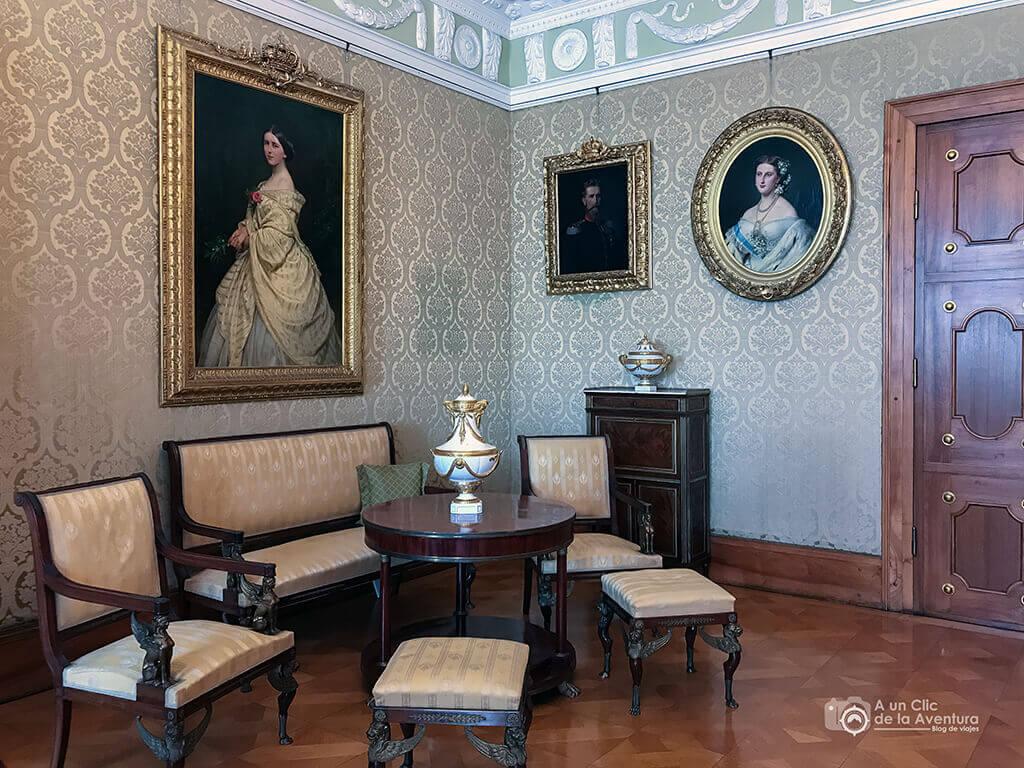 Sala de las Damas - Castillo Hohenzollern Sigmaringen
