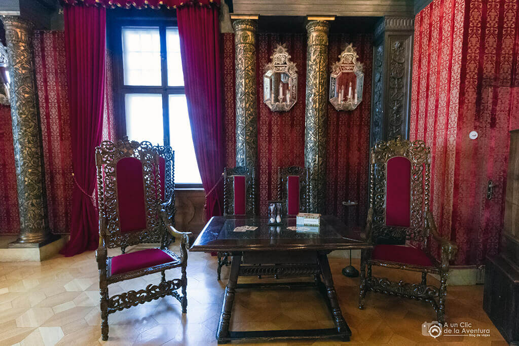 Salón de los Caballeros - Castillo Hohenzollern Sigmaringen