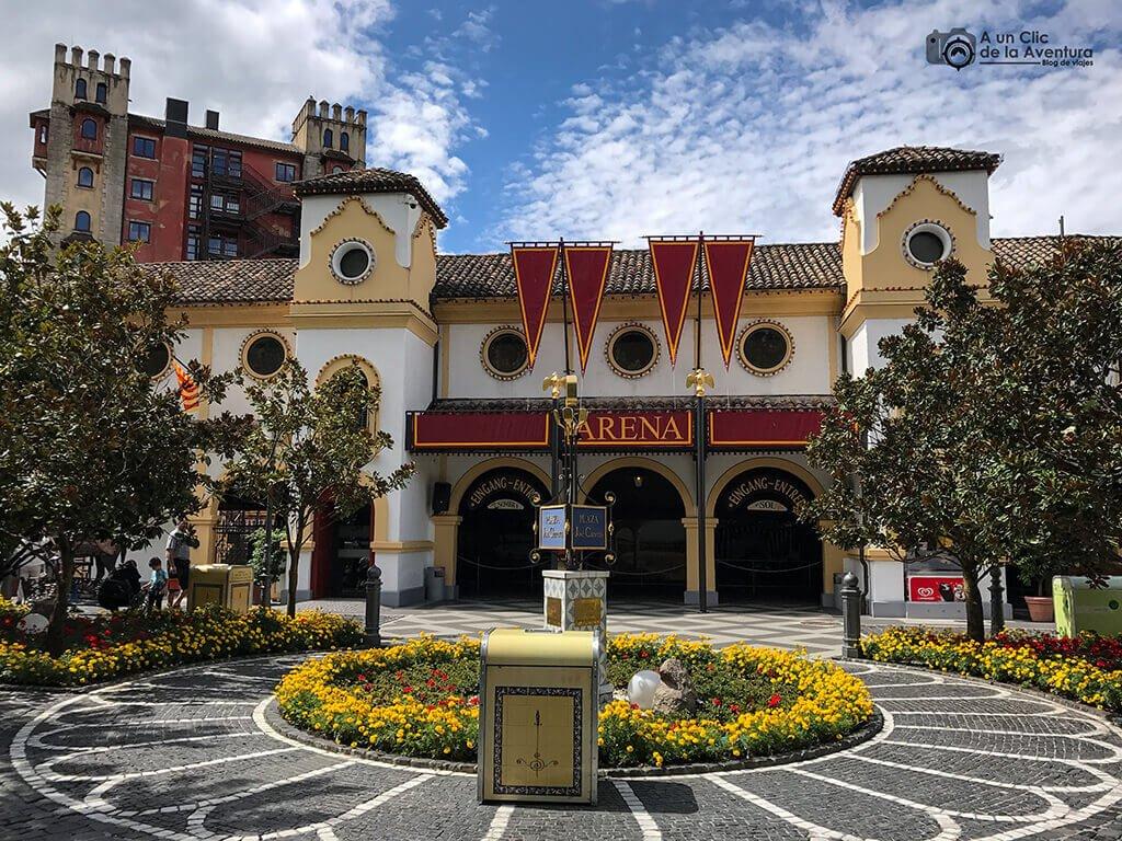 Área temática dedicada a España - guía para visitar Europa Park