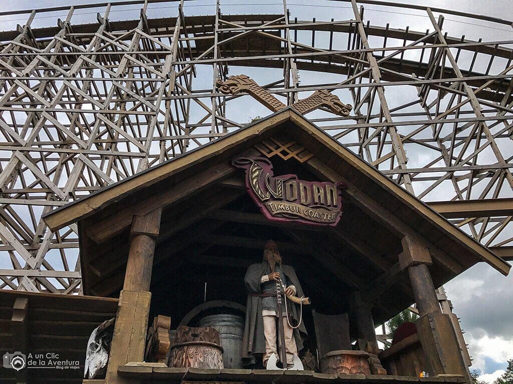Wodan, la montaña rusa de madera - guía para visitar Europa Park