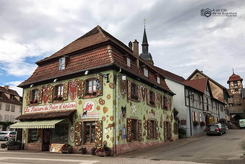 Museo del Pain d'épices en Gertwiller - pueblos más bonitos de Alsacia