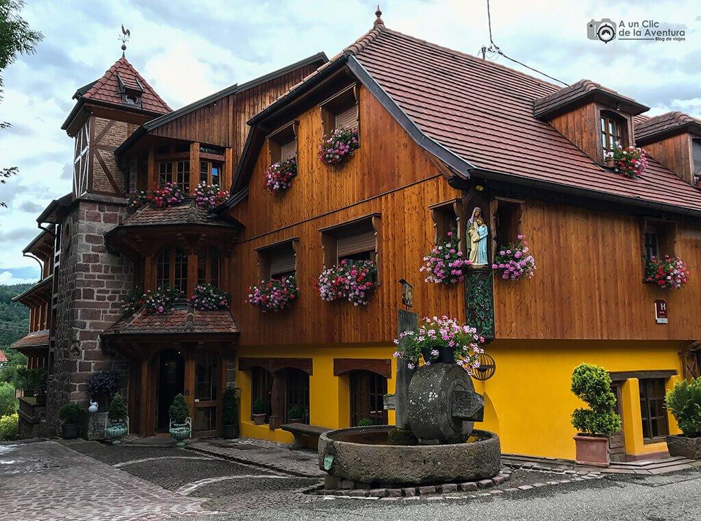 Hotel en Tannenkirch - pueblos más bonitos de Alsacia