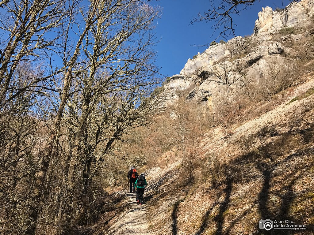Sendero del Alto Rudrón - ruta por el Alto Rudrón