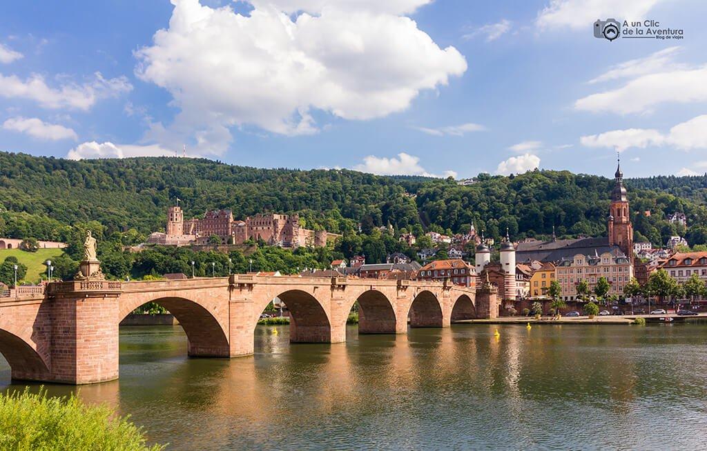 Puente de Carlos Teodoro de Heidelberg, Selva Negra de Alemania
