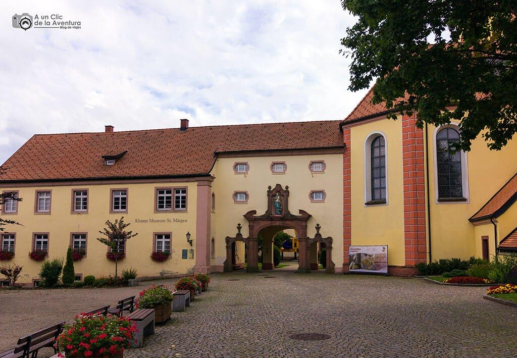 Monasterio de Sankt Märgen en la Selva Negra