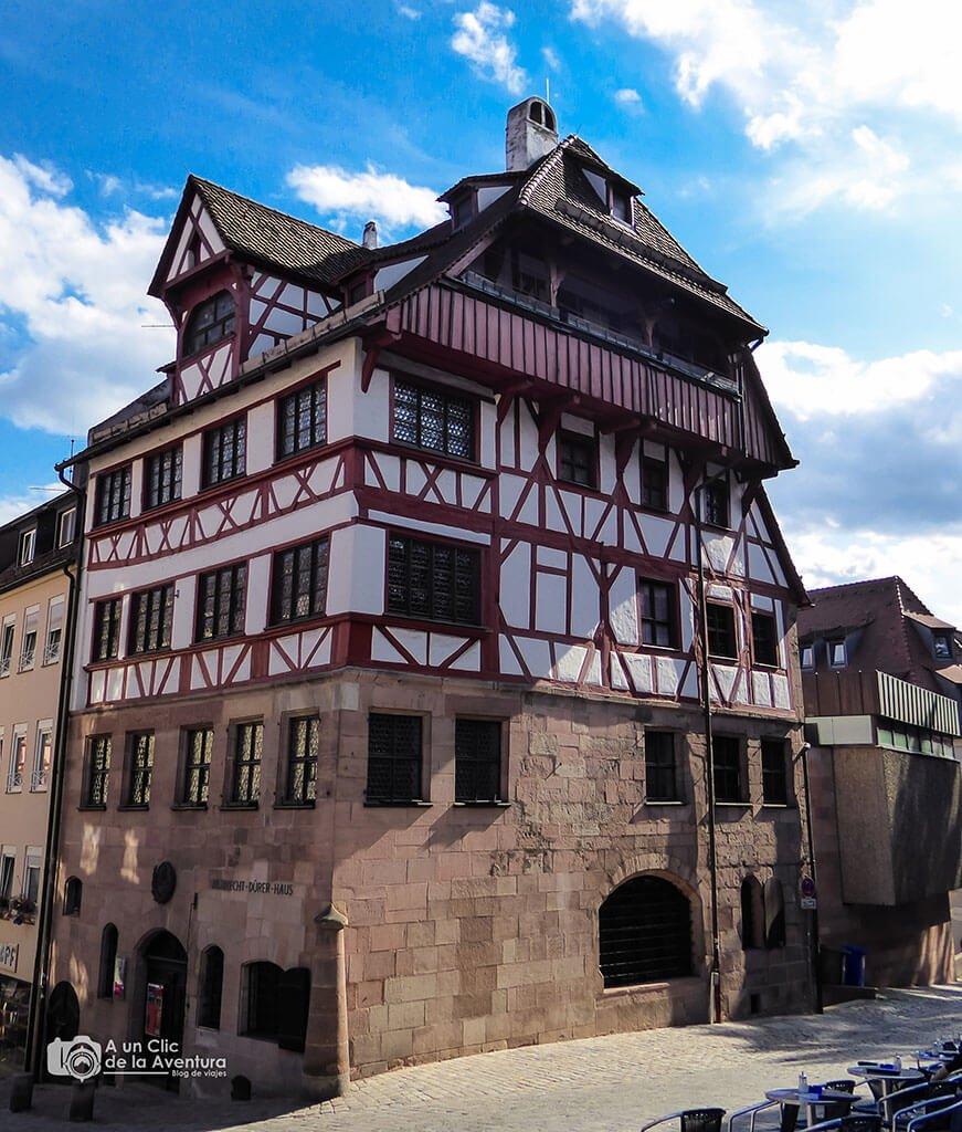Casa de Alberto Durero -Albrecht Dürer Haus - que ver en Núremberg