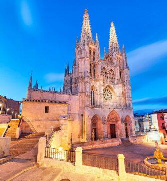 Exterior de la Catedral de Burgos - rincones secretos de Burgos
