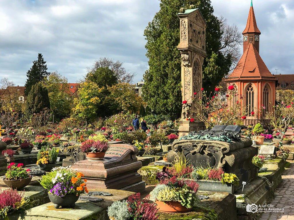Cementerio de San Juan -Johannisfriedhof - qué ver en Núremberg
