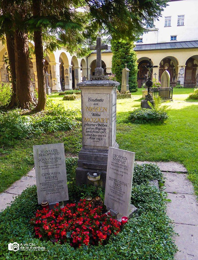 Cementerio de San Sebastián - qué ver en Salzburgo