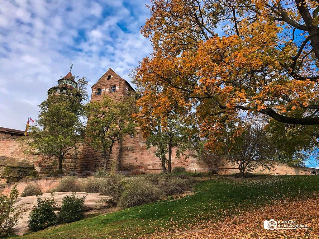 Exterior del Castillo Imperial - qué ver en Núremberg