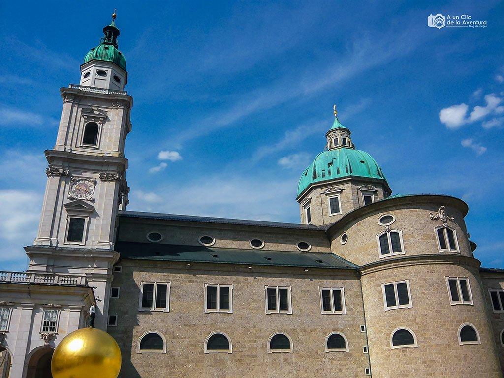 Exterior de la Catedral de Salzburgo - qué ver en Salzburgo