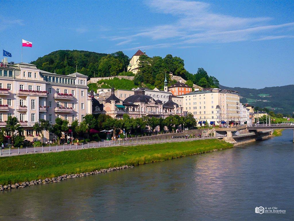 Hotel Sacher y Cafe Bazar de Salzburgo - qué ver en Salzburgo