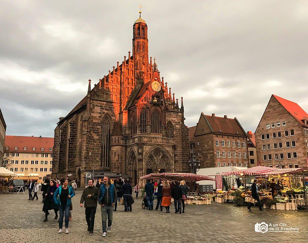 Iglesia de Nuestra Señora oFrauenkirche - que ver en Núremberg