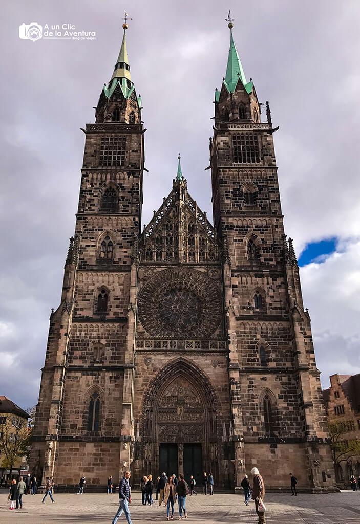 Iglesia de San Lorenzo - que ver en Núremberg