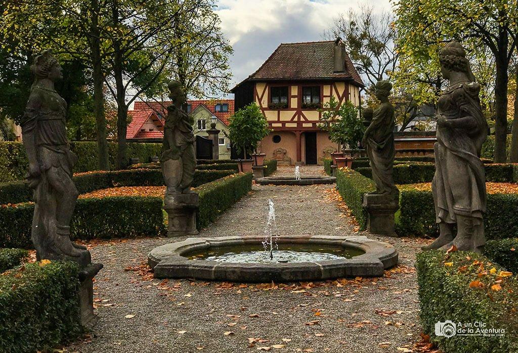 Jardín de las Hespérides - qué ver en Núremberg