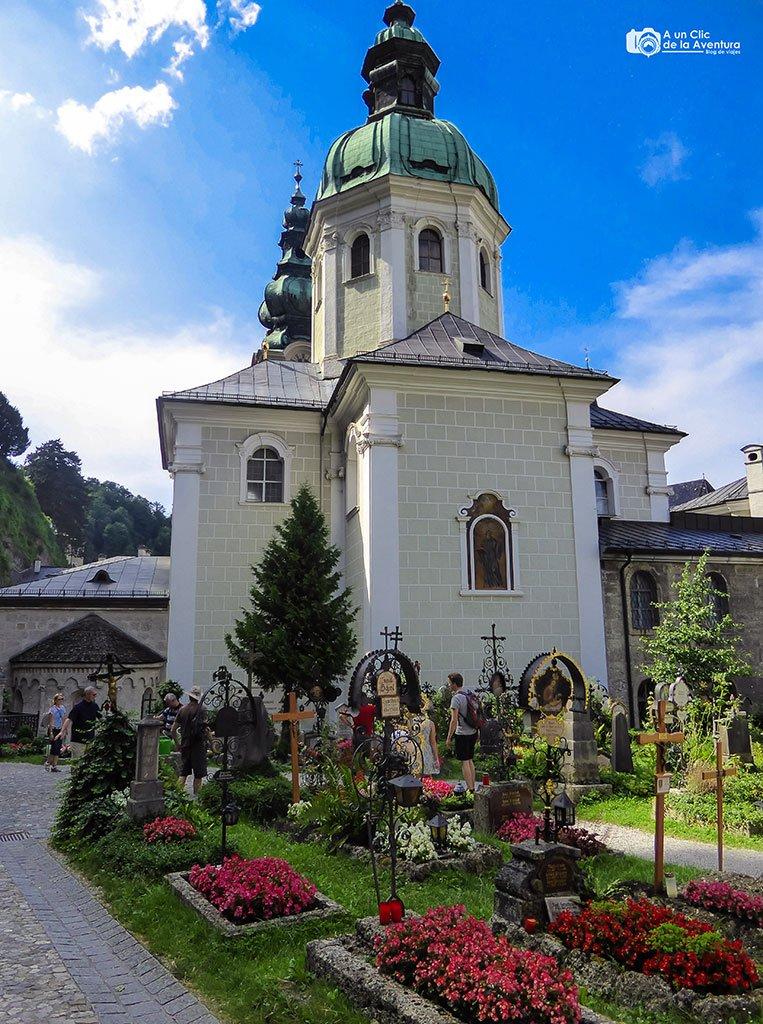 Margarethenkapelle y cementerio de San Pedro - qué ver en Salzburgo