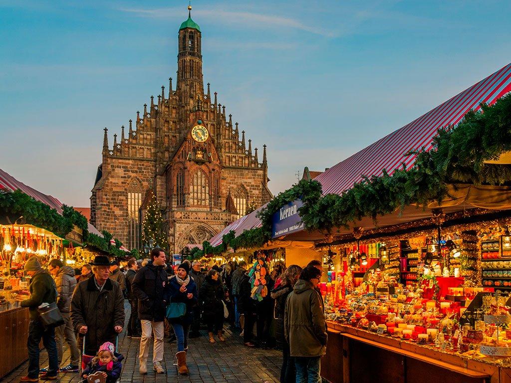 Mercado de Navidad o Christkindlesmarkt - qué ver en Núremberg
