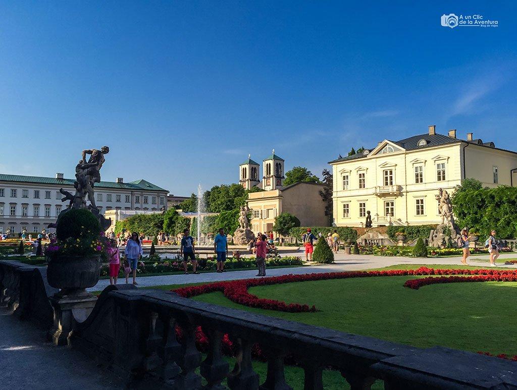 Palacio y jardines Mirabell - qué ver en Salzburgo