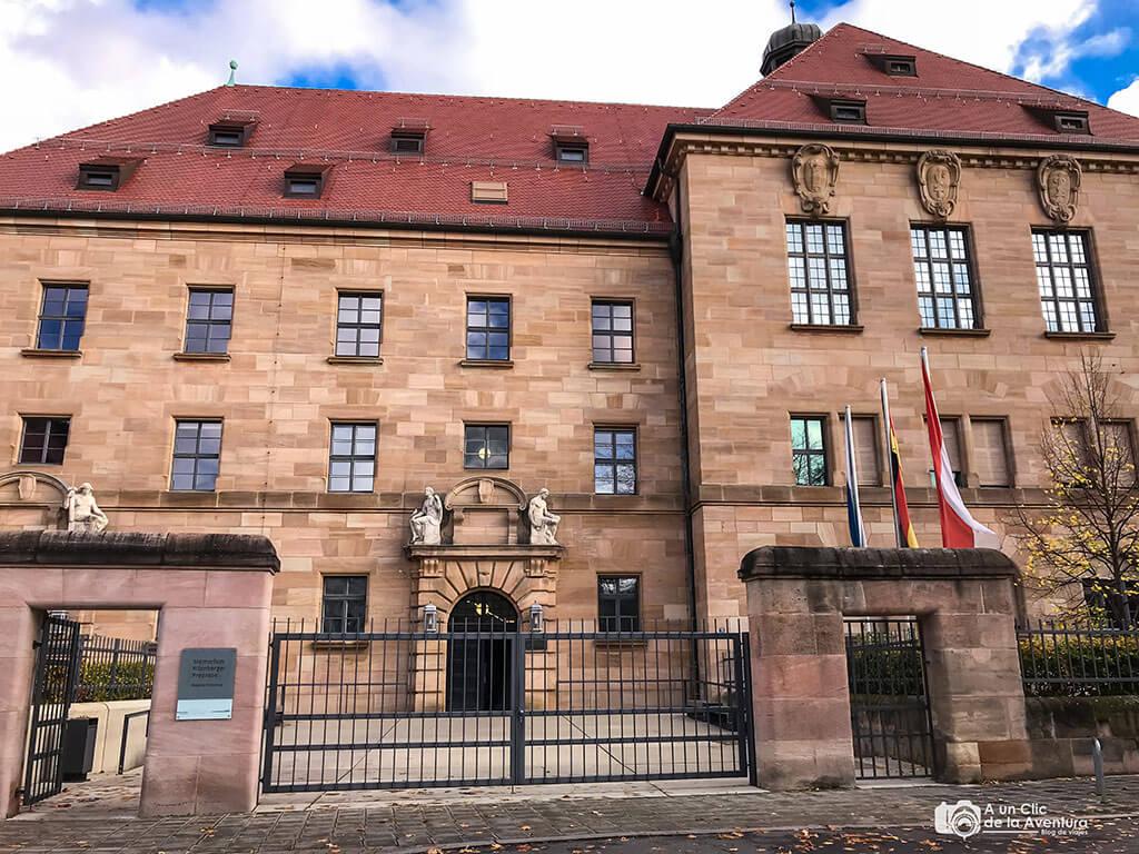 Palacio de Justicia - qué ver en Núremberg