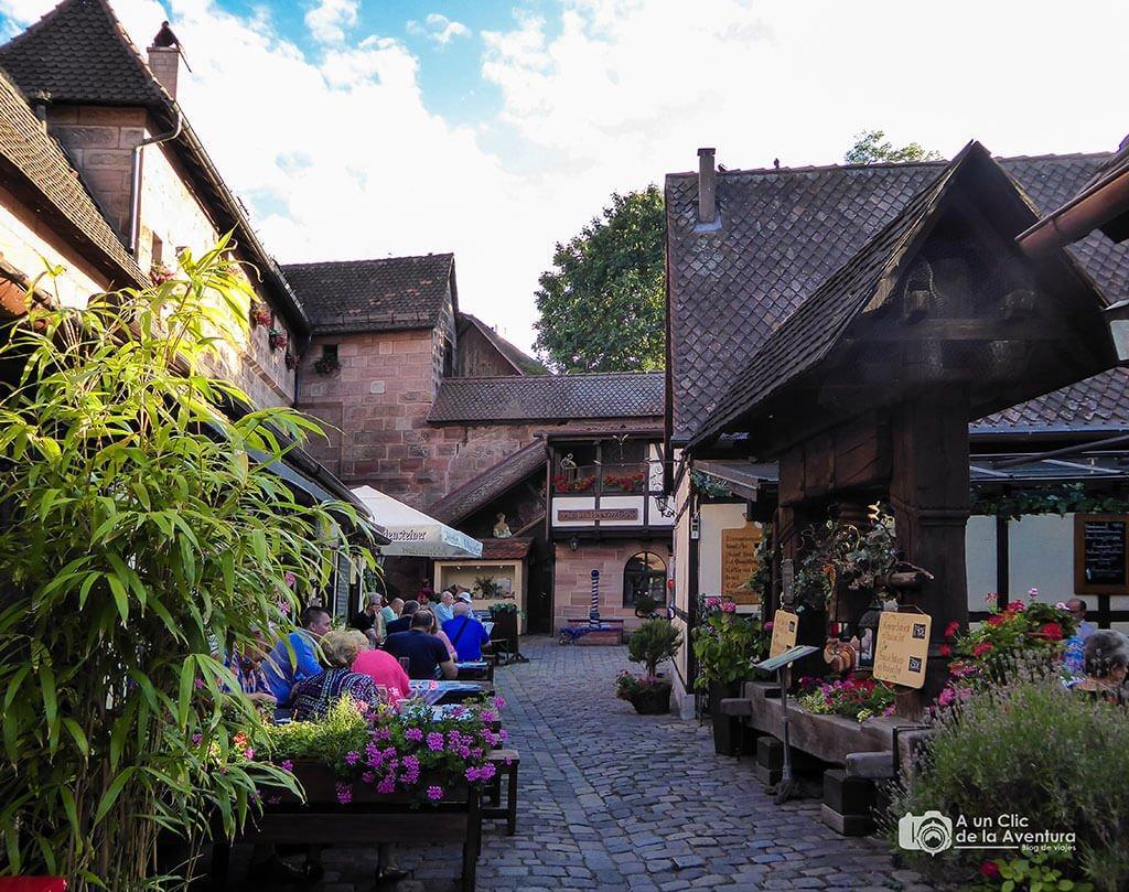 El Patio de los Artesanos o Handwerkerhof - que ver en Núremberg
