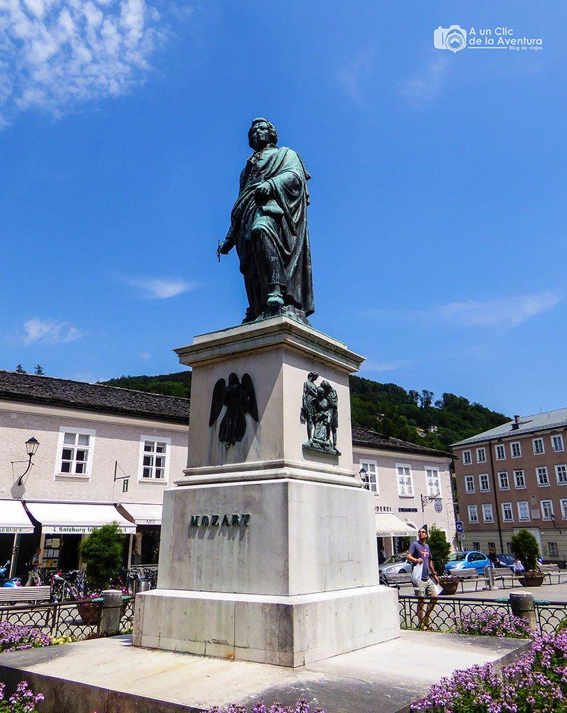Plaza Mozart en Salzburgo - qué ver en Salzburgo