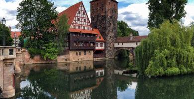 Antiguo Almacén de Vino o Weinstadel - qué ver en Núremberg