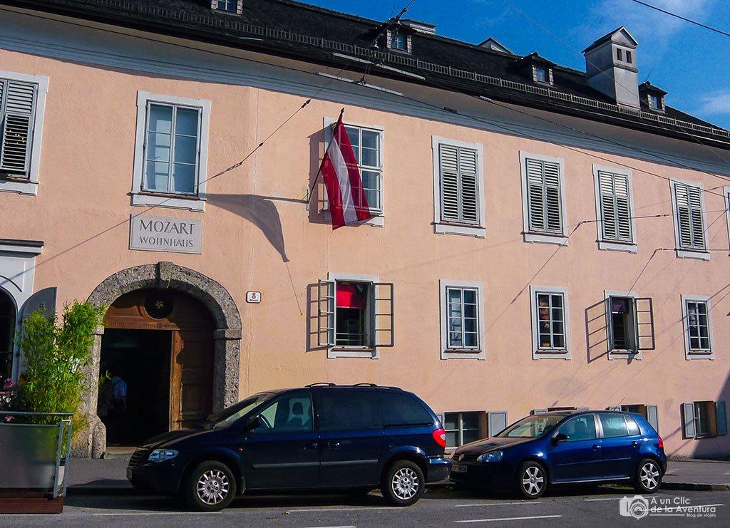 Residencia Mozart - qué ver en Salzburgo