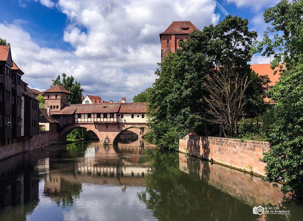El Puente del Verdugo o Henkersteg - qué ver en Núremberg