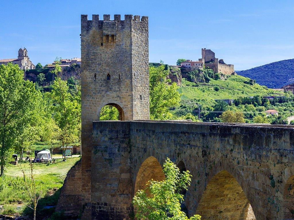 Puente de Frías en las Merindades de Burgos