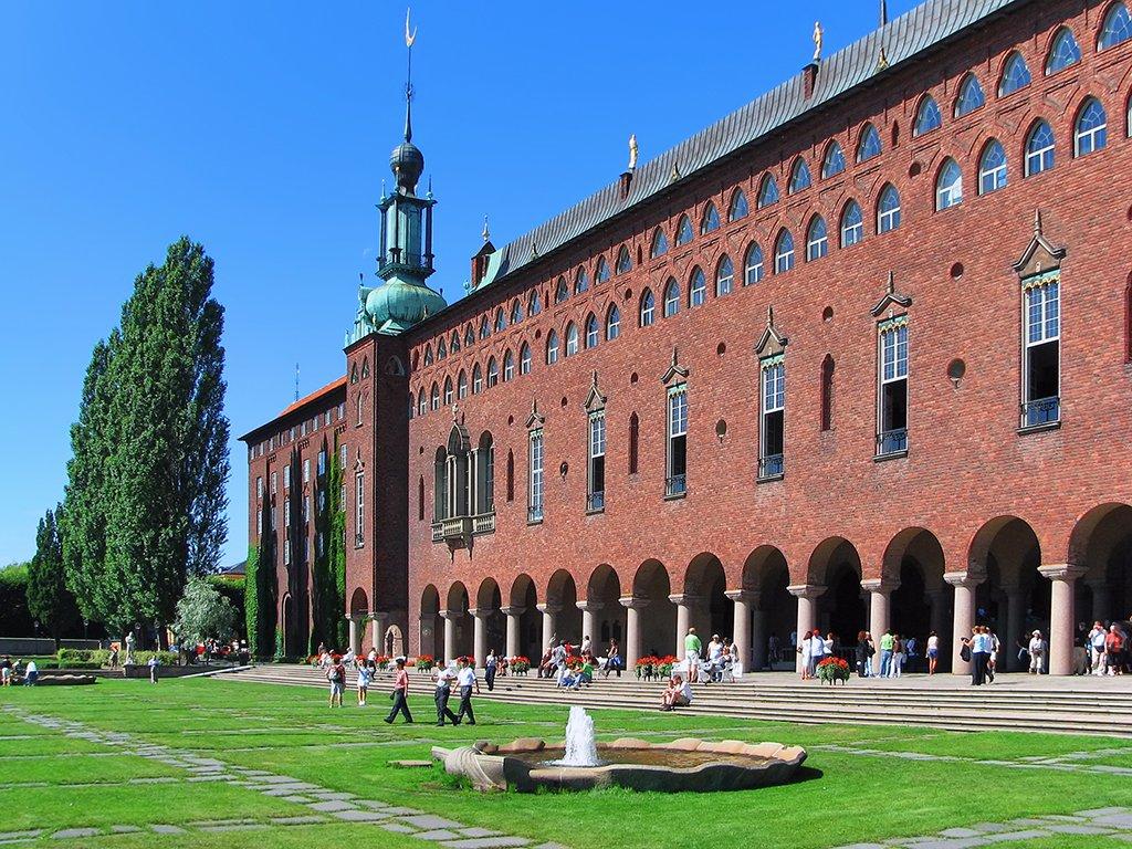 Ayuntamiento de Estocolmo - visitar Estocolmo