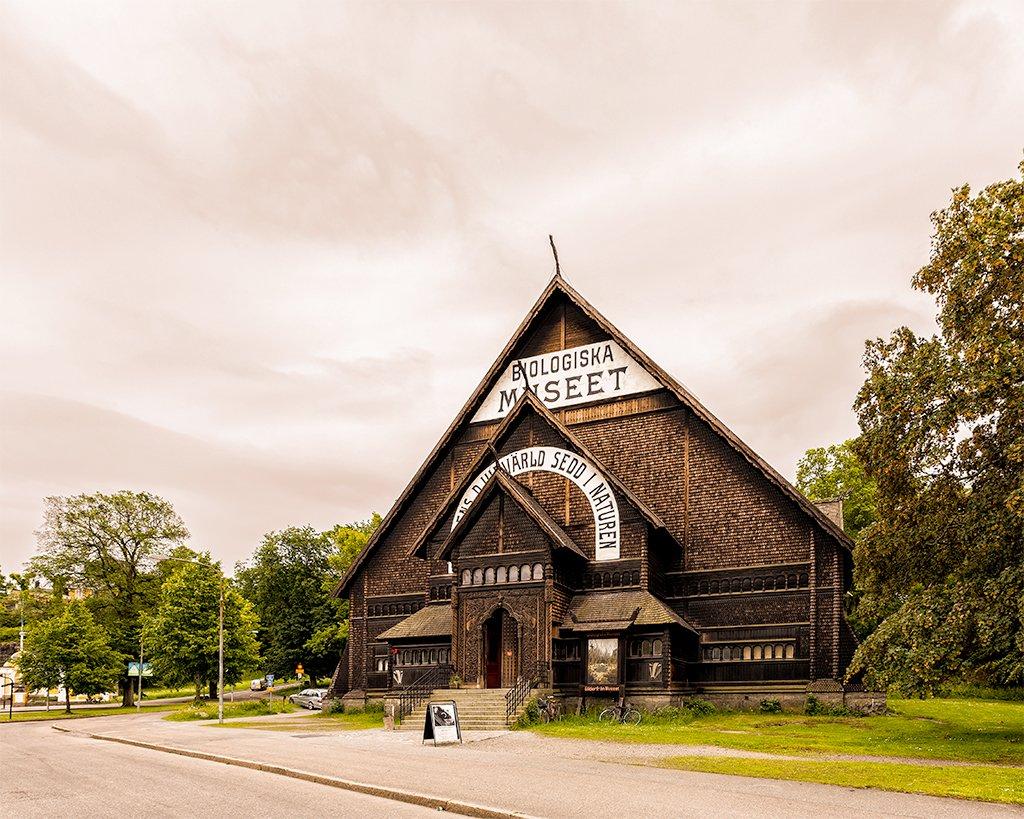 Museo de Historia Natural o Biologiska Museet - que ver en Estocolmo