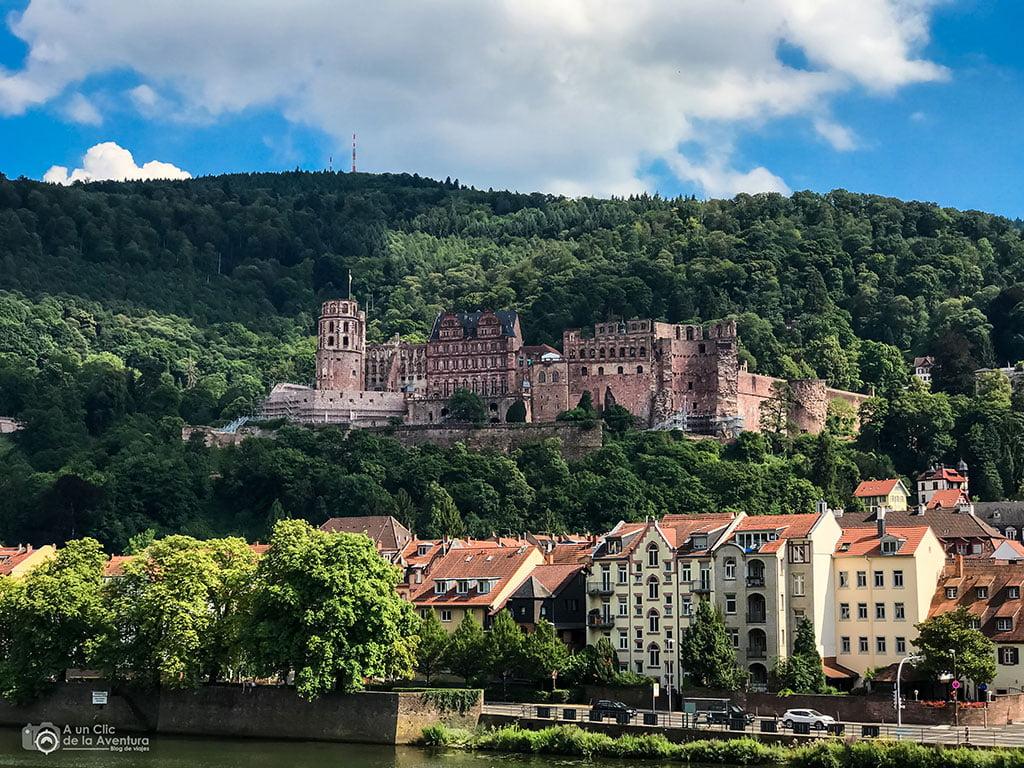 Castillo de Heidelberg- que ver en Heidelberg