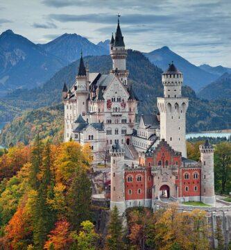 Castillo de Neuschwanstein o Castillo del Rey Loco