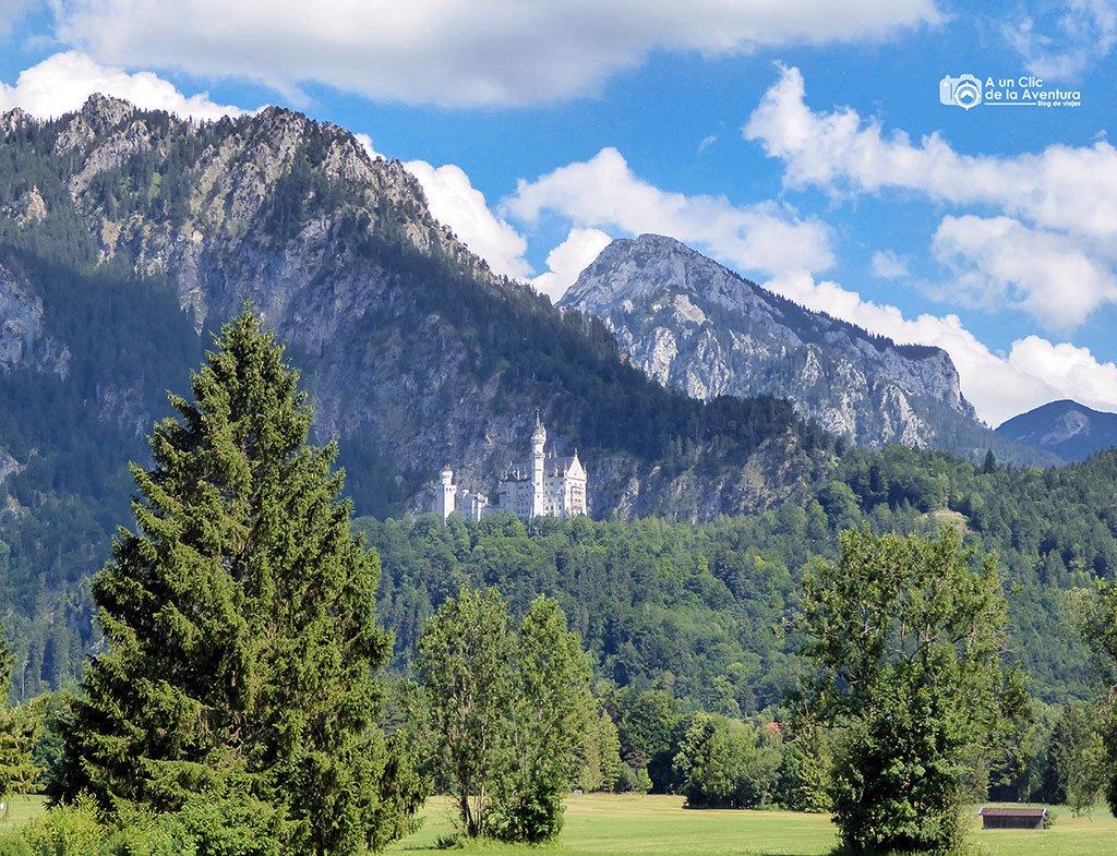 Llegando al Castillo de Neuschwanstein