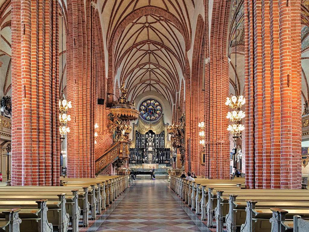 Interior de la Catedral de San Nicolás - que ver en Estocolmo