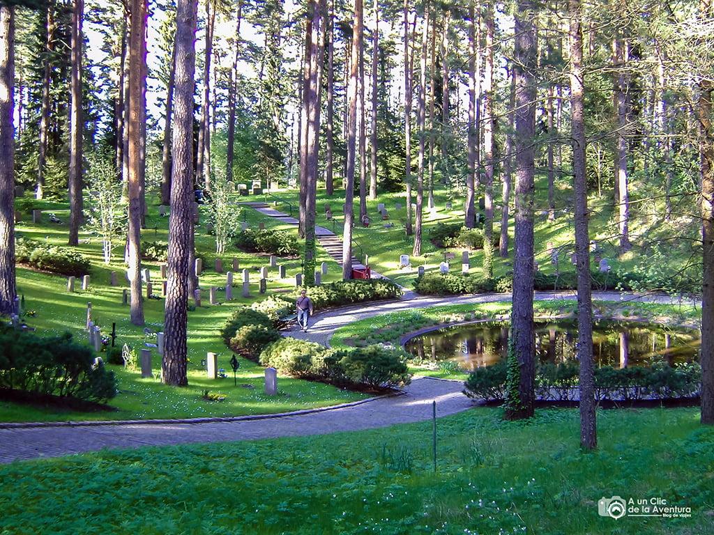 Cementerio del Bosque - que ver en Estocolmo