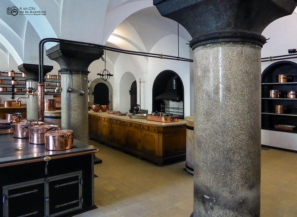 Cocina del Castillo de Neuschwanstein