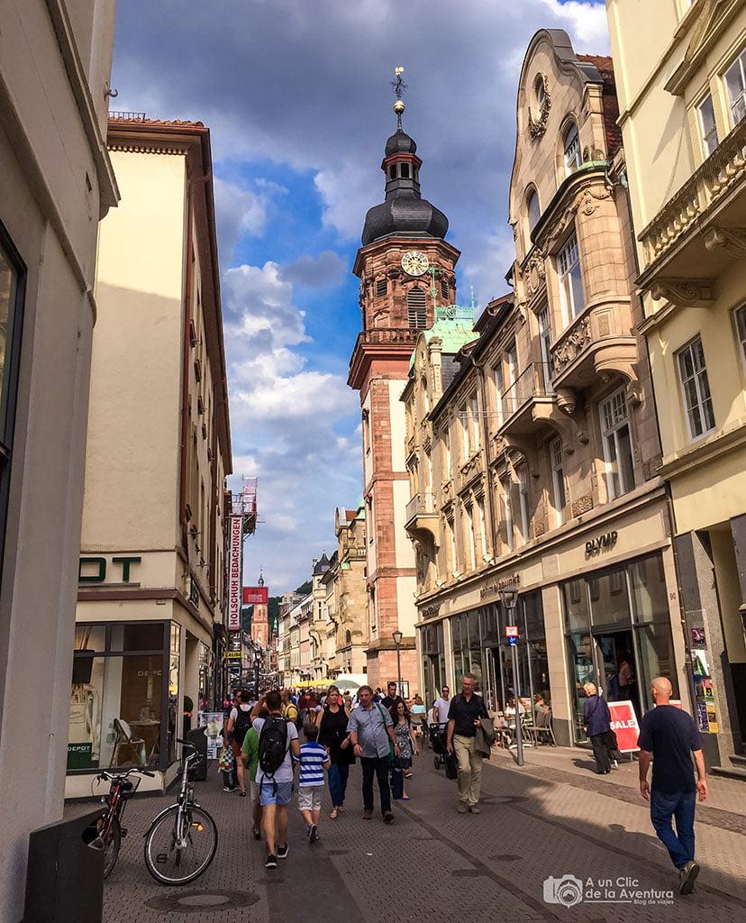 Hauptstrasse o Calle Principal de Heidelberg- que ver en Heidelberg