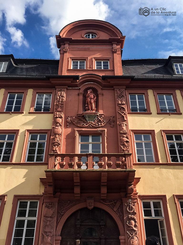 Haus zum Riesen o Casa del Gigante de Heidelberg- que ver en Heidelberg