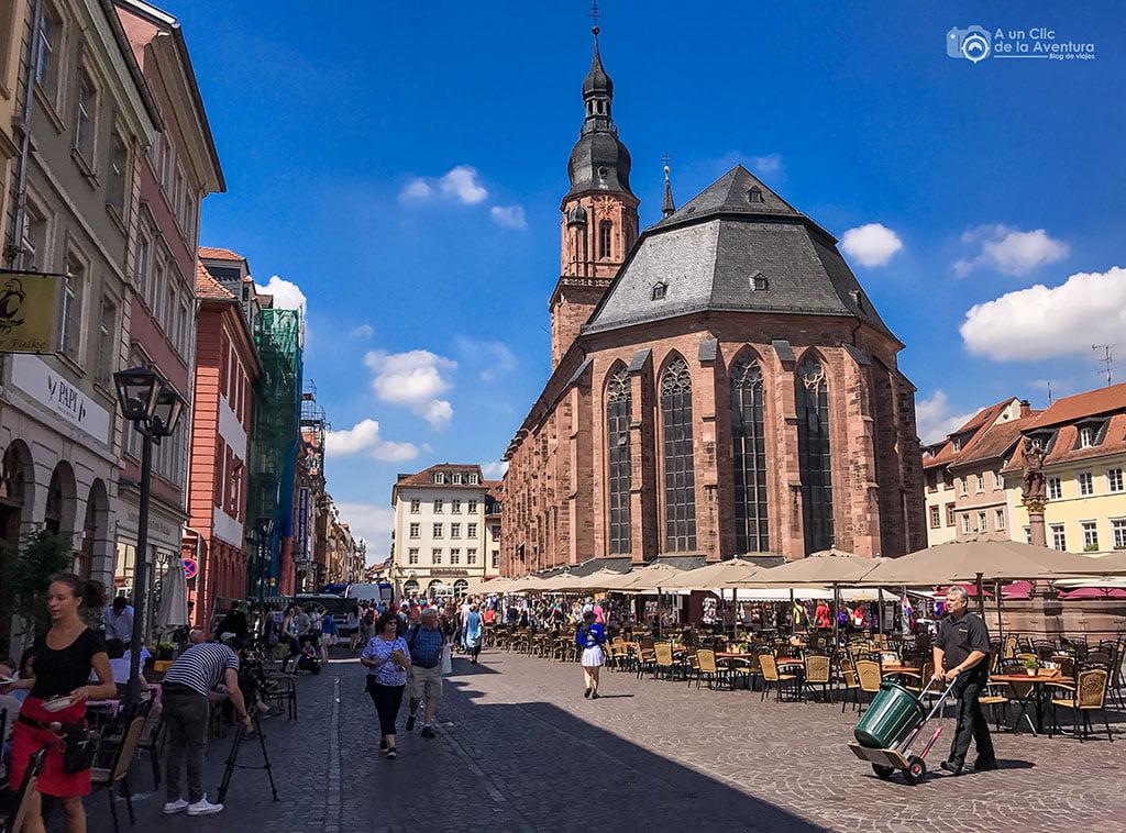 Heiliggeistkirche o Iglesia del Espíritu Santo de Heidelberg- que ver en Heidelberg