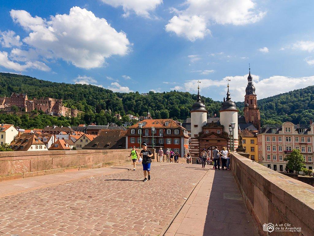 Karl Theodor Brucke de Heidelberg- que ver en Heidelberg