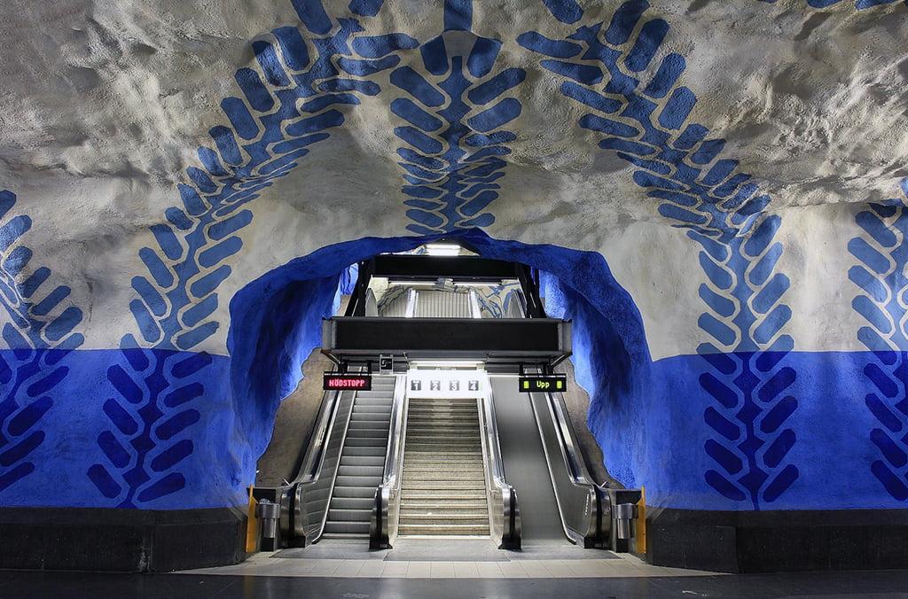 Metro de Estocolmo - visitar Estocolmo