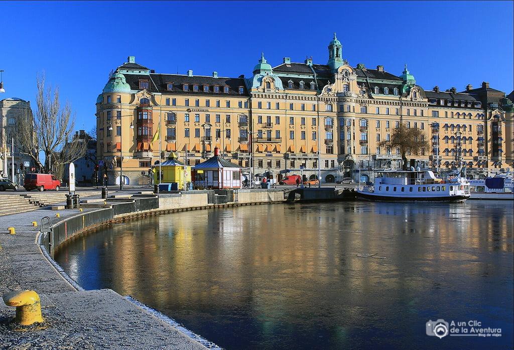 Nybroviken de Estocolmo - visitar Estocolmo