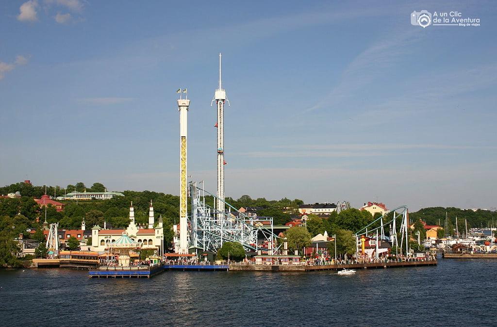 Parque Tivoli - que ver en Estocolmo